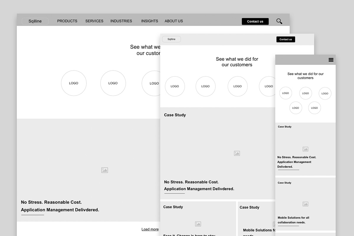 sqilline wireframes with responsive design.jpg